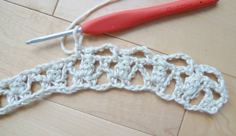 How to Crochet the Bobble Trellis Stitch