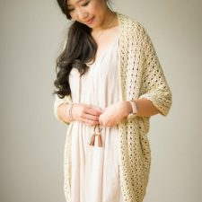 Crochet Calla Lily Cardigan