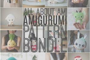 All About Ami Amigurumi Pattern Bundle
