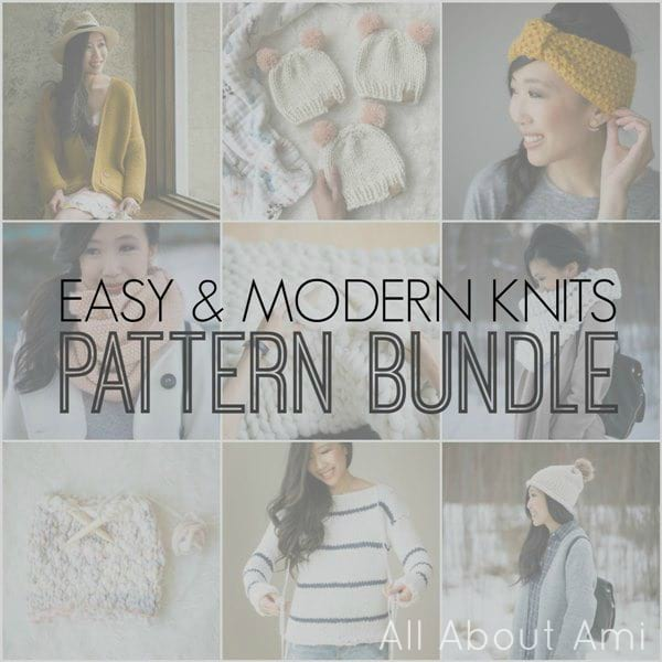 Easy & Modern Knits Pattern Bundle by All About Ami