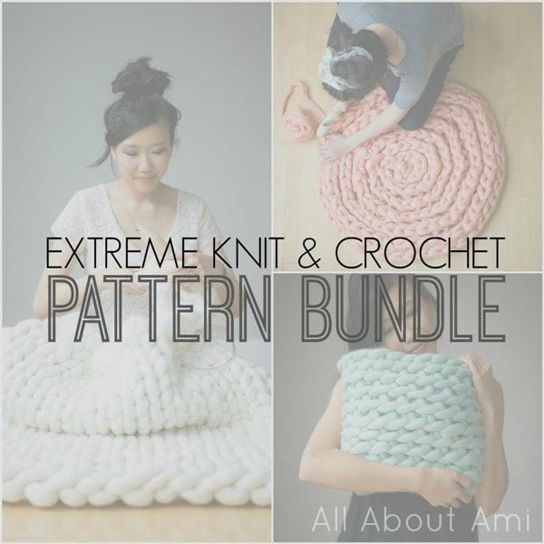 Extreme Knit & Crochet Pattern Bundle by All About Ami