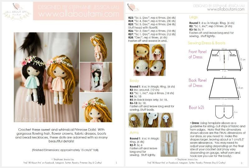All About Ami Primrose Dolls PDF Sample