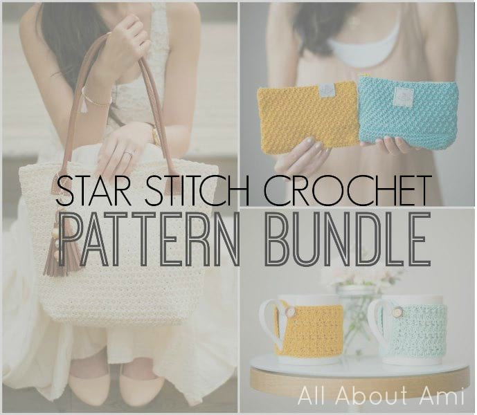 Star Stitch Crochet Pattern Bundle by All About Ami
