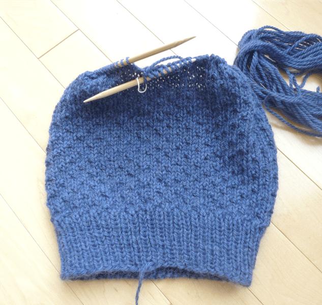 Knit Dotty Beanie