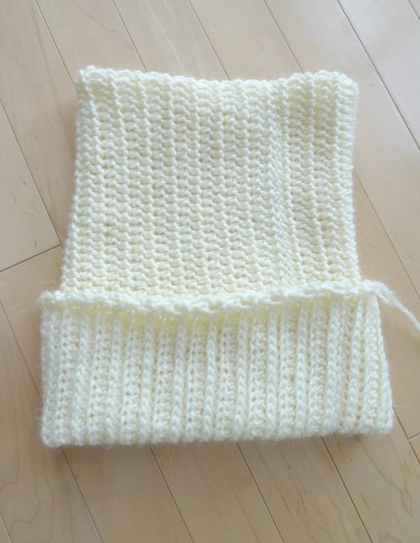 Double Brim Ribbed Beanie Crochet Pattern