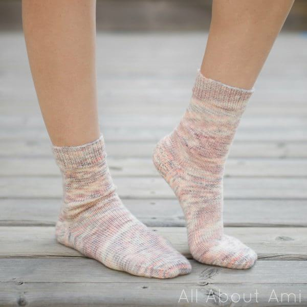 My Favorite Vanilla Socks by The Unapologetic Knitter