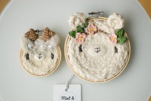 Woven Wall Decor Hoops by Mint & Woolly