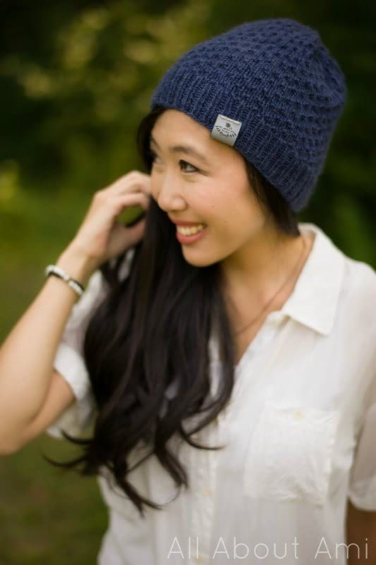 Dotty Beanie Knit Pattern