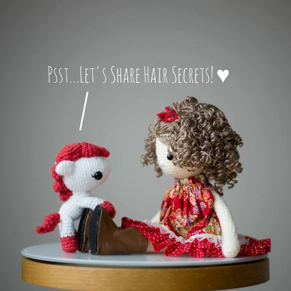 Chinese New Year Pony and Crochet Doll by Bubbles & Bongo
