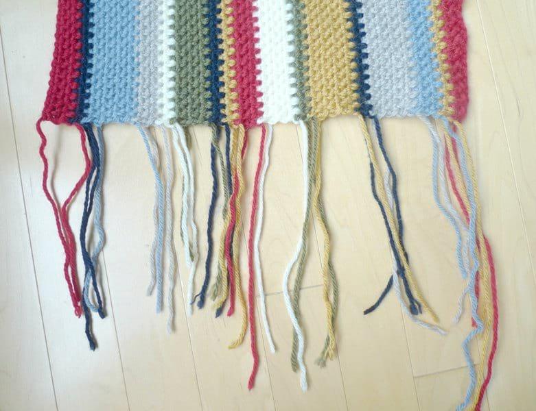 Rustic Canyon Crochet Scarf