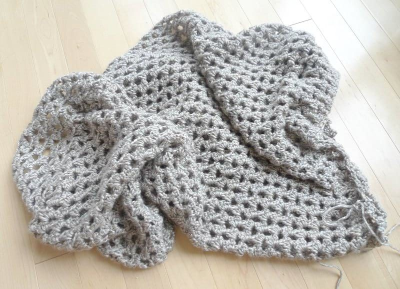 Heartland Boho Crochet Wrap