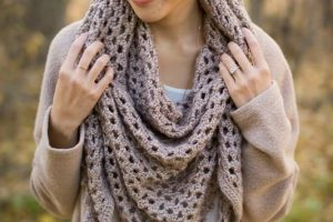 Heartland Boho Crochet Wrap
