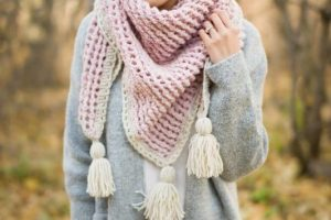 Crosswinds Triangle Scarf