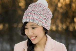 Cotton Candy Beanie