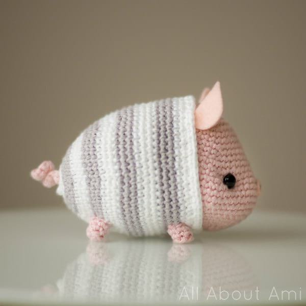 very very cute pig!pattern by@littlecottonrabbits #knit #handmade ... | 600x600