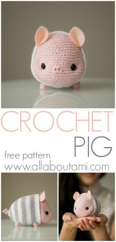 When Pigs Fly Crochet Piggy | 800x383