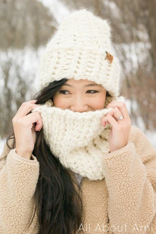 The Summit Beanie & Cowl (Crochet)