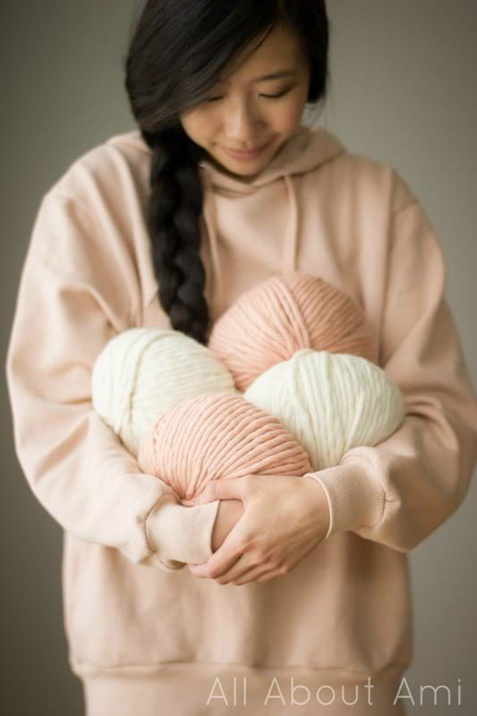Fifty Fifty Yarn by the LB Collection