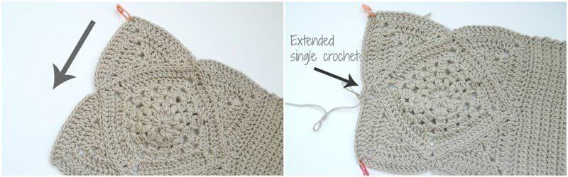 Crochet Wildrose Backpack