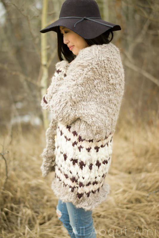 Cozy Thoughts Colorwork Sweater by Knit Collage