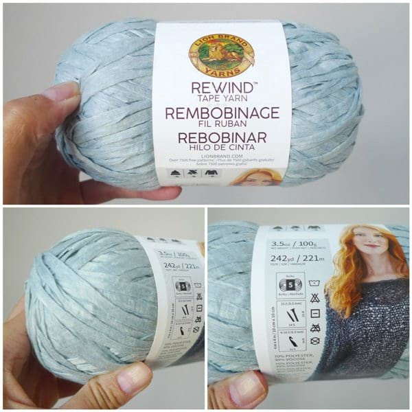 Rewind Yarn by Lion Brand Yarn