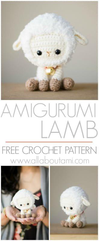 Amigurumi Lamb Crochet Pattern