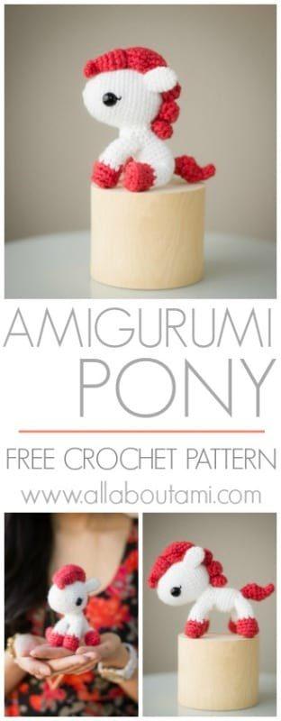 Amigurumi Pony Crochet Pattern
