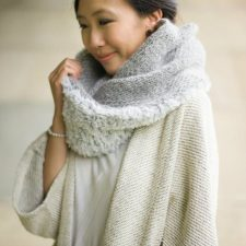 Knit Luxe Faux Fur Cowl