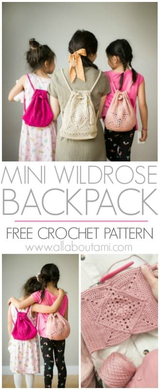 Mini Wildrose Backpack