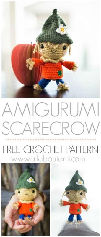 Amigurumi Scarecrow