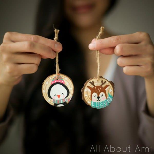 Nenaland Handpainted Ornaments