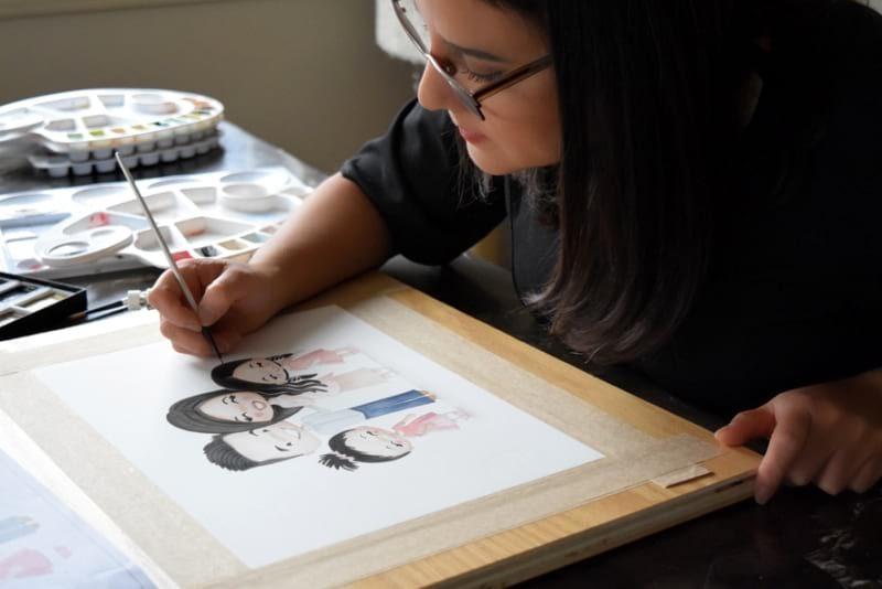 Nenaland Custom Illustration Portrait