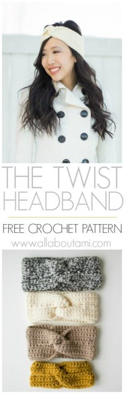 Twist Headband Crochet Pattern