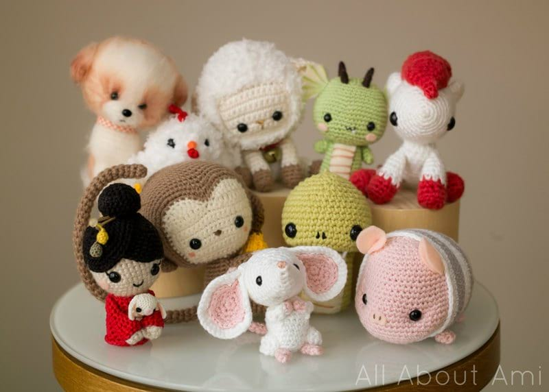 Chinese New Year Zodiac Amigurumi