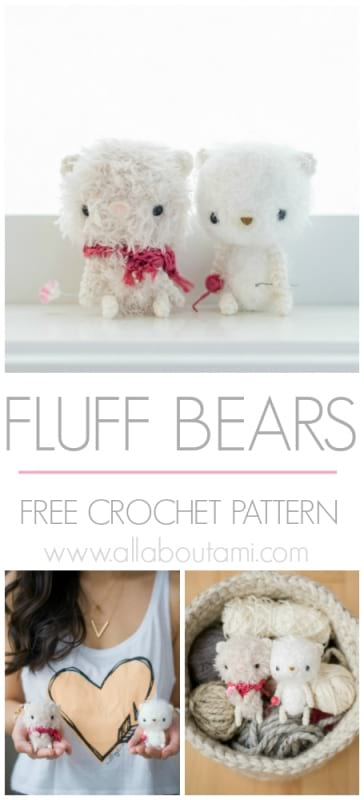 The Fluff Bears Crochet Pattern