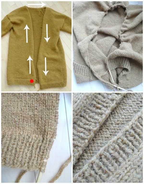Daylight Cardigan Knit Pattern
