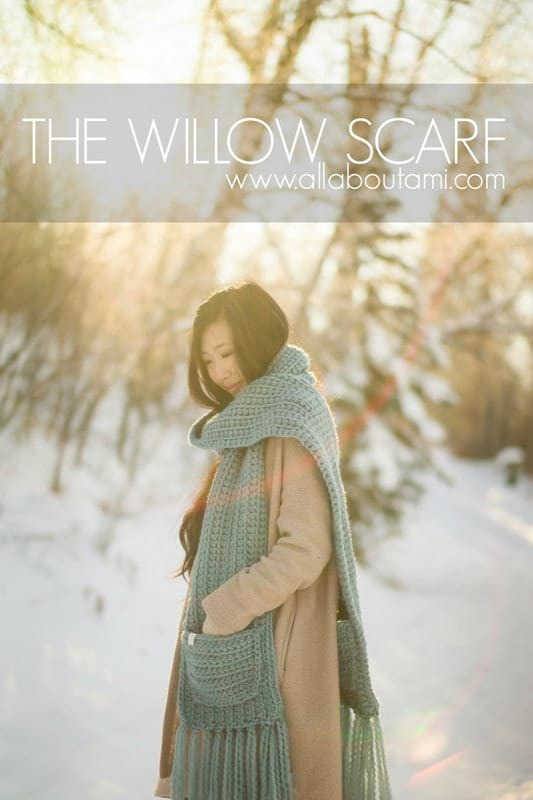 The Willow Crochet Scarf