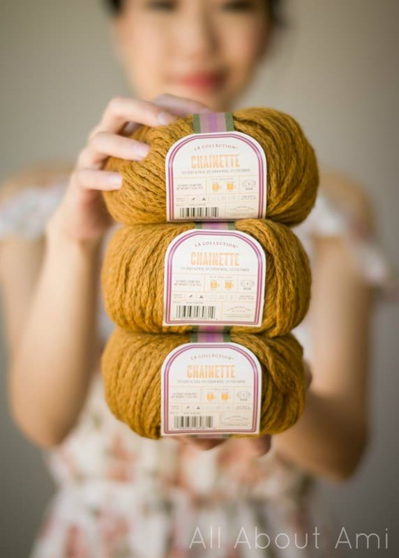 LB Collection Chainette Yarn