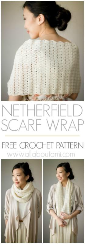 Netherfield Scarf Wrap
