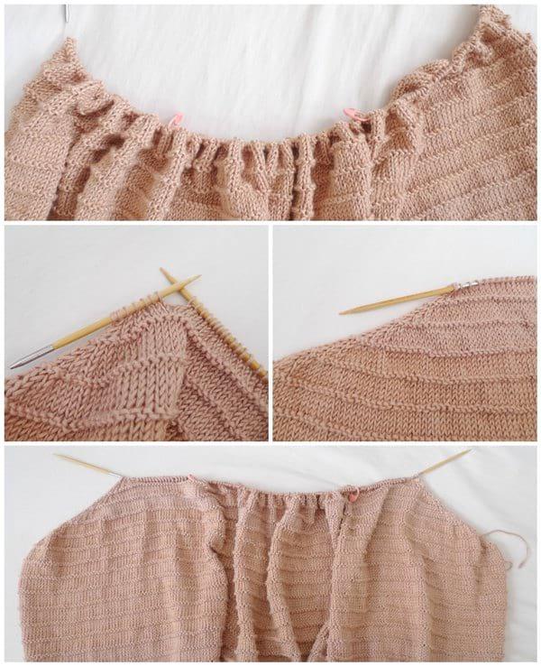 Dawn Cape Knit Pattern