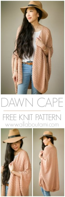 Dawn Cape Knit Pattern