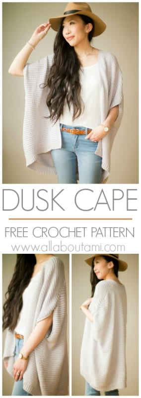 Dusk Cape Crochet Pattern