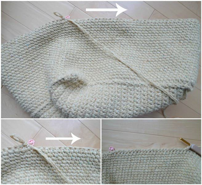 Rustic Tweed Basket Crochet Pattern