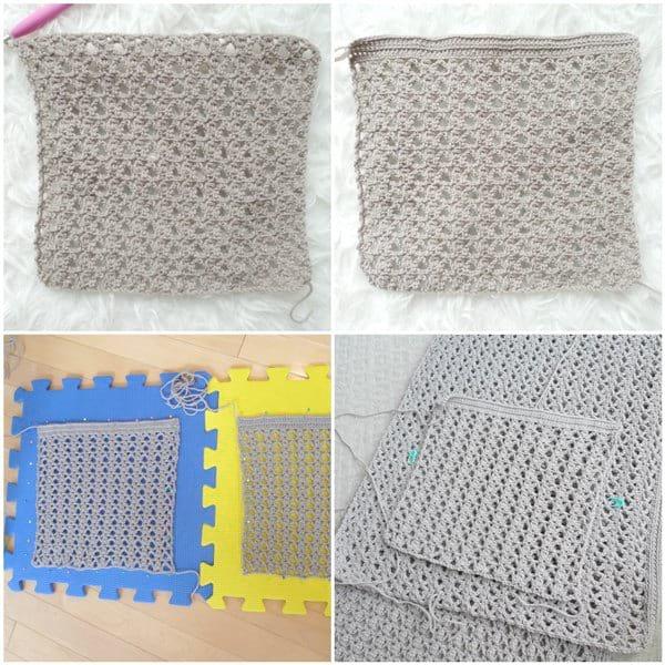Calla Lily Pocket Shawl Crochet Pattern