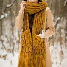 Arbor Scarf Knit Pattern
