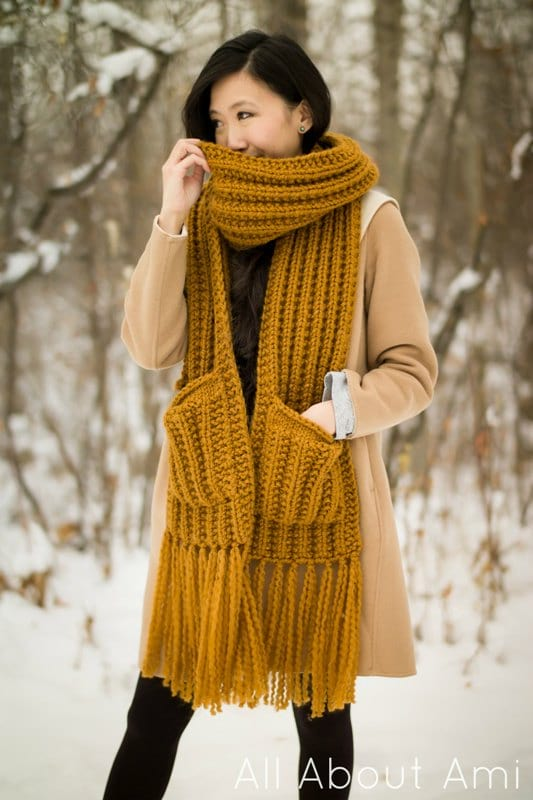 Arbor Scarf Knit Pattern