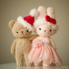 Boucle Bear & Bunny Christmas Accessories