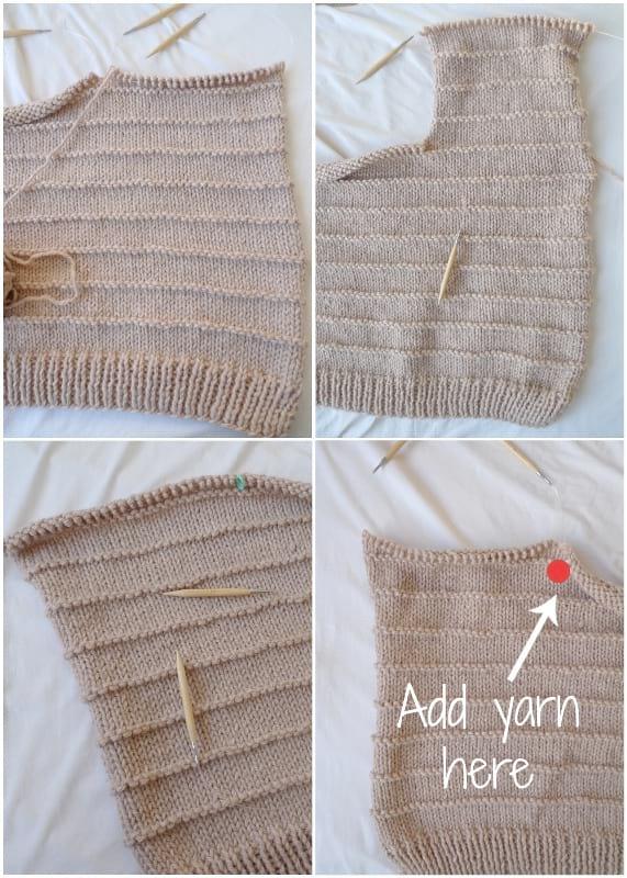 Ridgeline Cardigan Knit Pattern
