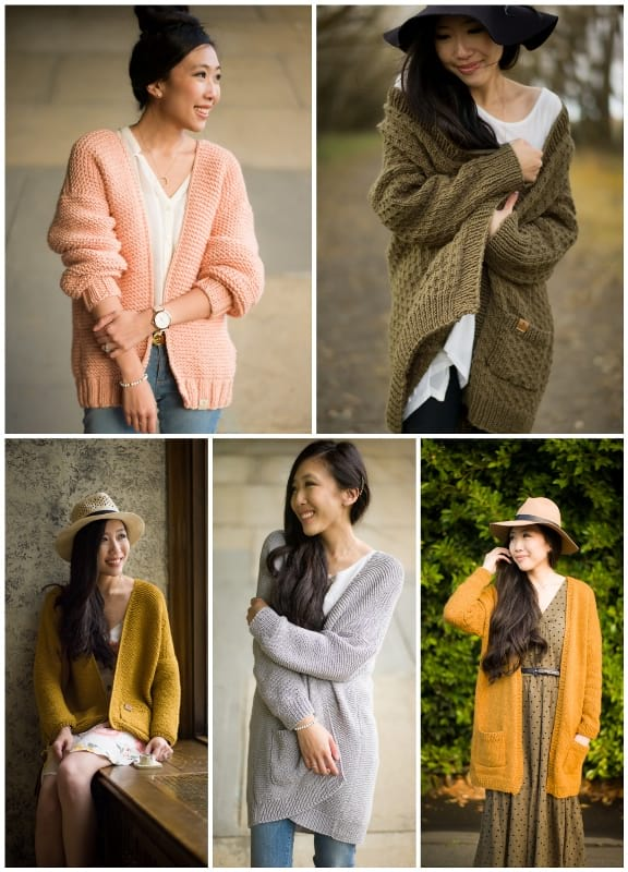 All About Ami Knit Cardigans