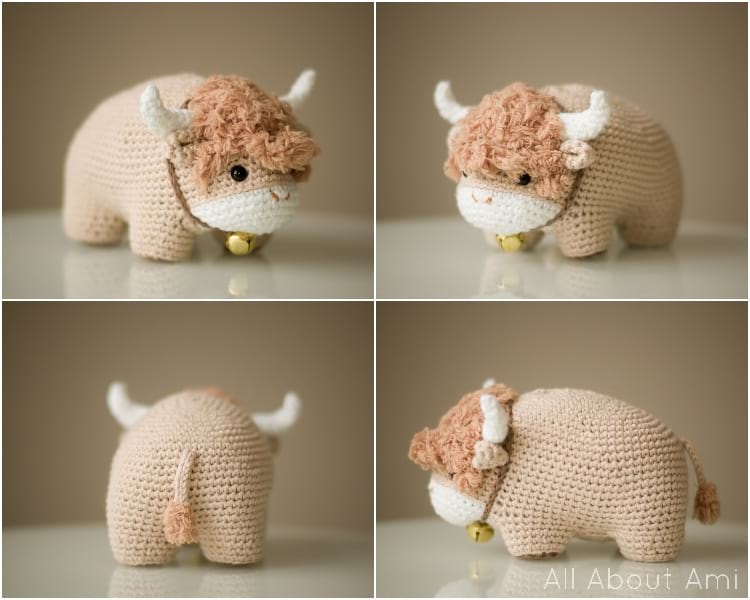 Chinese New Year Ox Amigurumi